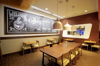 Cafe & Bakery Dining Room