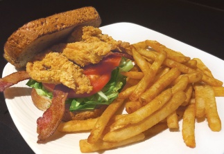 Chicken Club at STACKED Grill